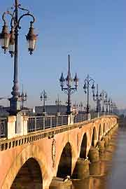 View of the Pont de Pierre