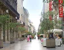 Picture of cafes in the city centre