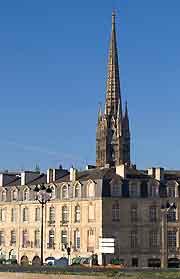 Photo of Bordeaux's St. Michel Basilica