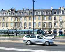 Bordeaux Airport (BOD) Car Rental: Driving in the city centre photo