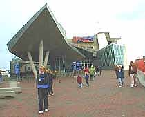 View of the New England Aquarium
