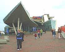 View of the New England Aquarium