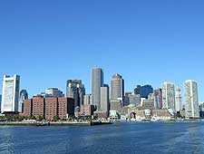 Skyline photograph of Boston