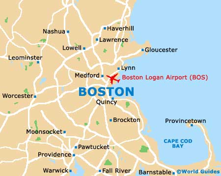 Small Boston Map
