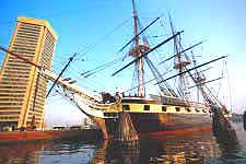 Image of the New USS Constitution