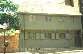 Photo of the Paul Revere House