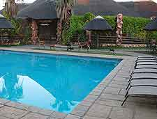 Photo of hotel pool in Gaborone