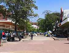 Photo of The Main Mall in Gaborone