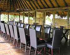 Picture of dining area at Mombo Safari Camp