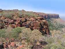 Photograph of Namibia's Waterberg Plateau Park