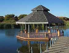 Phakalane Golf Estate Hotel Resort view