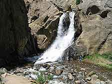 Picture of the natural Boulder Falls