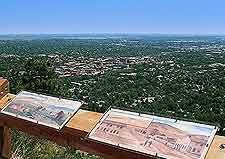 View from the top of Flagstaff Mountain