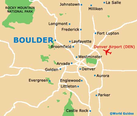 Boulder Maps And Orientation Boulder Colorado  CO USA