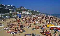 Image of Bournemouth's East Beach
