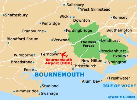 Small Bournemouth Map