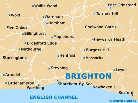 Small Brighton Map