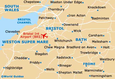 Small Bristol Map