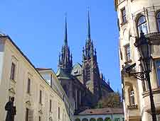 Picture showing the cathedral spires