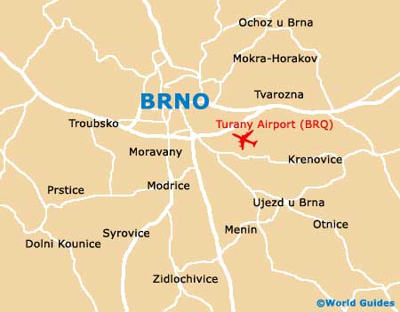 Small Brno Map