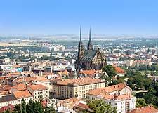 Image of the Brno skyline