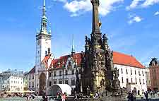 Picture showing Olomouc city centre