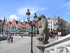 Market square in the city centre