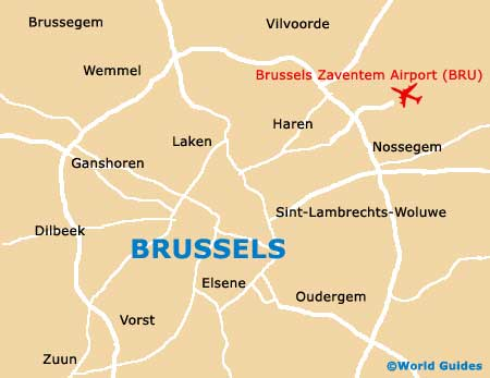 Small Brussels Map