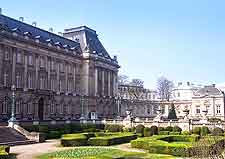 Photo of the Royal Palace of Brussels