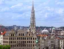 Photo of the Brussels skyline