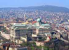 Image of the Royal Palace (Buda Castle) in Budapest
