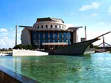 Photo of the stunning Hungarian National Theatre