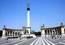 Photo of the Millennium Monument