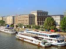 Picture of cruise boats on the River Danube