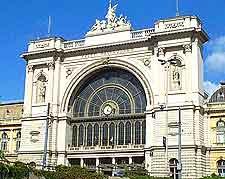 Image of the Budapest Keleti Palyaudvar train station