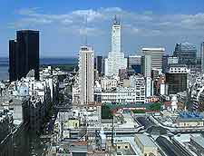 Aerial view of Buenos Aires