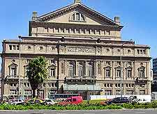 Photograph of the Teatro Colon (Colon Theatre)