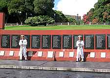 Falkland Islands War Memorial photograph (Islas Malvinas)