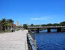 View of the El Tigre riverfront