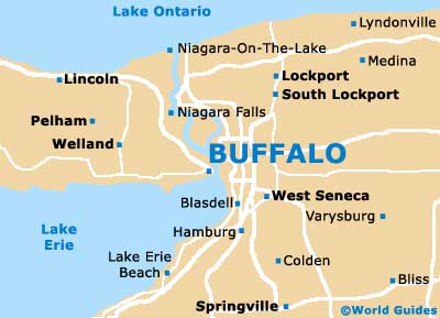 Buffalo Maps and Orientation: Buffalo, New York   NY, USA