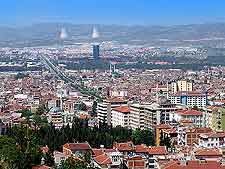 Panoramic view of the city