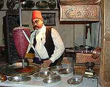 Photo of waxworks in the Bursa City Museum