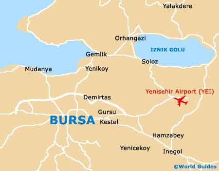 Small Bursa Map