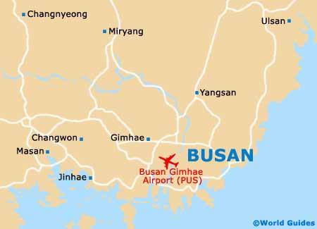 Busan Map