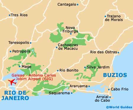 Small Buzios Map