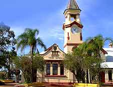 Image of the nearby Ballina Court House