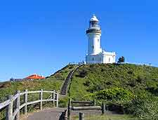 Picture of the famous Cape Byron Lighthouse