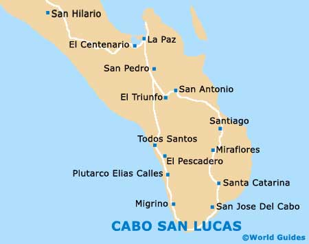 Cabo San Lucas Travel Guide and Tourist Information Cabo San Lucas