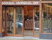 Photo of the Doongal Aboriginal Art Gallery in Kuranda