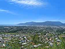 Photograph of Cairns and the Yarrabah Peninsula